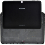 Genuine Samsung SM-T535 Battery Cover in Black - Part no: GH98-32761A
