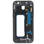 Genuine Samsung Galaxy A5 2017 A520 Black Chassis / Middle Cover - Part no: GH96-10623A
