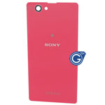 Sony Xperia Z1 Compact, Xperia Z1 mini, D5503, Genuine Battery Cover in Pink