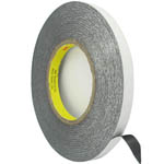 0.8 cm Roll of adhesive black tape 3m strong double sided for digitizers, frames and etc