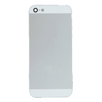 iPhone 5 Battery Back Cover in Silver with Small Parts