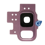 Samsung Galaxy S9 G960F Camera cover with lens in Purple