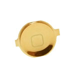 iPhone 4S Home Button in Bullion Gold-Replacement part (compatible)