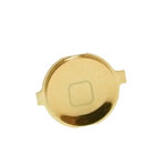 iPhone 4S Home Button in Metallic Gold- Replacement part (compatible)