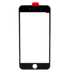 iPhone 6 Plus LCD Lens with Frame (Cold Pressed) in Black