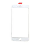 iPhone 6 Plus LCD Lens with Frame (Cold Pressed) in White