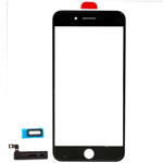iPhone 7 Plus Glass Lens with adhesive in Black