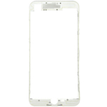 iPhone 7 Plus LCD Frame with hot compression adhesive in White - Replacement part (compatible)