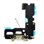 iPhone 7 Charging System Connector with Flex in White -Replacement part (compatible)