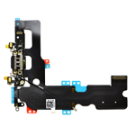 iPhone 7 Charging System Connector with Flex in Black -Replacement part (compatible)