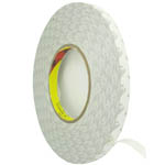 1.0 cm Roll of adhesive white tape 3m strong double sided for digitizers, frames and etc