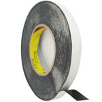 1.5 cm Roll of adhesive black tape 3m strong double sided for digitizers, frames and etc