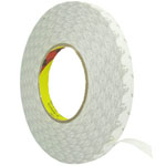 1.5 cm Roll of adhesive white tape 3m strong double sided for digitizers, frames and etc