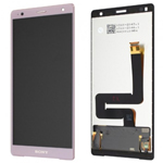 Genuine Sony H8216 H8266 Xperia XZ2 Lcd and touchpad in Pink - part no: 1313-1177