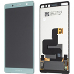 Genuine Sony H8324 H8314 Xperia XZ2 Compact Lcd and touchpad in Green - part no: 1313-0918