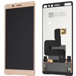 Genuine Sony H8324 H8314 Xperia XZ2 Compact Lcd and touchpad in Pink - Part no: 1313-0920