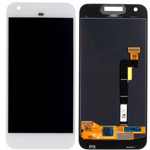 Genuine Google Pixel (G-2PW4200) Complete Lcd with Digitizer Touchscreen in White - Google part no: 83H90204-02