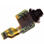 Genuine Sony Xperia XZ Premium Dual (G8142) - Audio Flex-Cable + Earphone Jack - Part no: 1305-6098