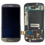 Samsung Galaxy S3 LTE I9305 Complete Lcd Screen With Digitizer In Grey -GH97-14106A
