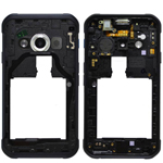 Genuine Samsung Galaxy Xcover 3 G389F Chassis / Middle Cover with Lens -Part no:  GH98-39213A