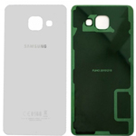 Genuine Samsung SM-A310F Galaxy A3 (2016) - Battery Cover In White - Part no: GH82-11093C
