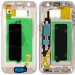 Genuine Samsung SM-G930F Galaxy S7 - LCD Bracket / Display Frame Gold - Part no: GH96-09788C