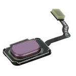 Genuine Samsung S9 (G960F), S9+(G965F) Home Key button and Flex Cable/fingerprint Key  In Purple - part no: GH96-11479B, GH96-11938B