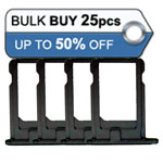 25pcs iPhone 5S Sim Holder in black-Replacement compatible parts