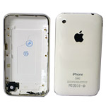 iPhone 3G 16GB Back Cover with Chrome Bezel  Approval In white