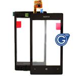 Genuine Nokia Lumia 520 Front Cover + Touchscreen - Nokia Part Code: 00809L1