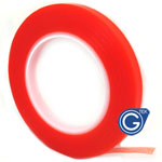 1.0 cm Roll of adhesive Red tape 3m strong double sided for digitizers, frames and etc