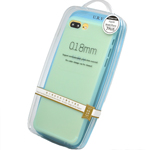 URV Pastel Blue Bumper Case for the Apple iPhone 7 Plus - 0.18mm - Grip and Anti Slip in Retail Packaging