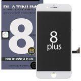 iPhone 8 plus Platinum 5.5 Retina IPS LCD display, Retina HD in White