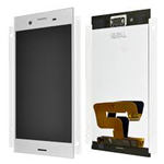 Genuine Sony G8341 G8342 Xperia XZ1 Lcd and touchpad in Silver - Part no: 1309-6835