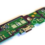 Nokia Lumia 1320 - Micro USB Connector / Microfone Flex Cable