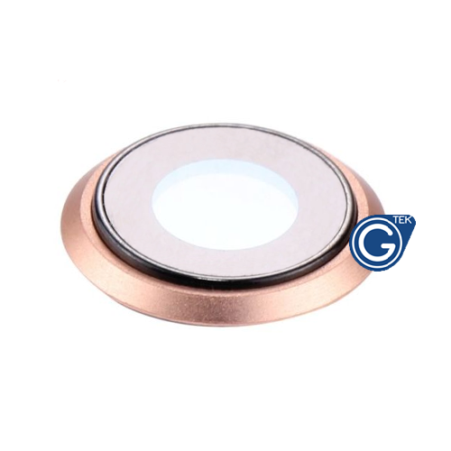 iPhone 8 Camera Lens Ring in Gold - Replacement part (compatible)
