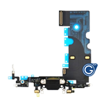 iPhone 8 Charging Connector Flex in Black - Replacement part (compatible)