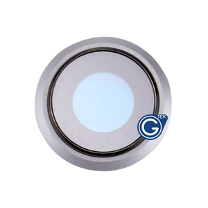 iPhone 8 Camera Lens Ring in Silver - Replacement part (compatible)