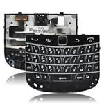 Genuine Blackberry 9900 full Keypad board incl: Flex, Membrane, Keypad, Navi key/Joystick Black