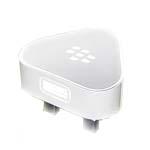Genuine Blackberry 9900 9860 ASY-31295-004 USB Mains Adaptor 3Pin UK White