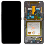 Genuine Samsung Galaxy A80 (SM-A805F) lcd and touchpad in black - part no: GH82-20348A