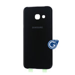 Samsung Galaxy A3 2017 SM-A320F Battery Cover in Black