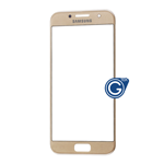 Samsung Galaxy A3 SM-A320 Glass Lens with Adhesive in Gold
