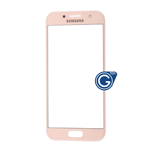 Samsung Galaxy A3 SM-A320 Glass Lens with Adhesive in Pink