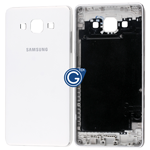 Samsung Galaxy A5 SM-A500F Rear Housing with Side Buttons in White