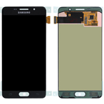 Genuine Samsung SM-A510F Galaxy A5 (2016)  Complete Display LCD with Touchscreen in Black-Samsung part no: GH97-18250B