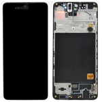 Genuine Samsung Galaxy A51 (A515F) lcd and touchpad in black - Part no: GH82-21669A