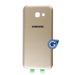 Samsung Galaxy A5 2017 SM-A520F Battery Cover in Gold