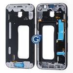 Samsung Galaxy A5 A520 LCD Frame Bezel in Black