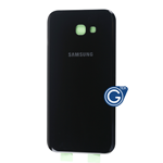 Samsung Galaxy A7 2017 SM-A720F Battery Cover in Black